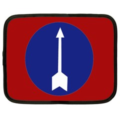 Flag Of Myanmar Army Northern Command  Netbook Case (large) by abbeyz71