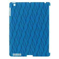Blue Pattern Apple Ipad 3/4 Hardshell Case (compatible With Smart Cover) by Valentinaart