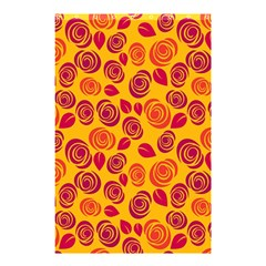 Orange Roses Shower Curtain 48  X 72  (small)  by Valentinaart