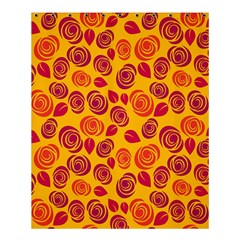 Orange Roses Shower Curtain 60  X 72  (medium)  by Valentinaart