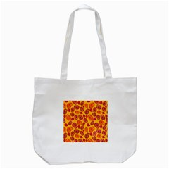 Orange Roses Tote Bag (white)