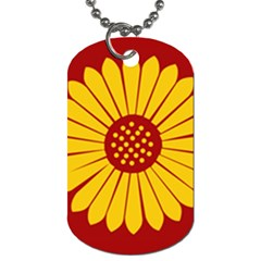 Flag Of Myanmar Army Eastern Command Dog Tag (one Side) by abbeyz71
