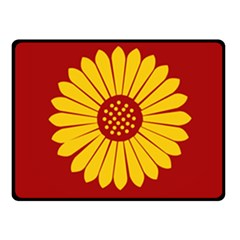 Flag Of Myanmar Army Eastern Command Double Sided Fleece Blanket (small)  by abbeyz71