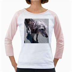 Scottish Deerhound Full Girly Raglans by TailWags