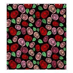 Red And Pink Roses Shower Curtain 66  X 72  (large)  by Valentinaart
