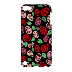 Red And Pink Roses Apple Ipod Touch 5 Hardshell Case by Valentinaart