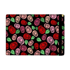 Red And Pink Roses Apple Ipad Mini Flip Case by Valentinaart