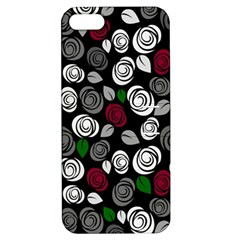 Elegant Roses Design Apple Iphone 5 Hardshell Case With Stand by Valentinaart