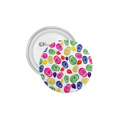 Colorful roses 1.75  Buttons by Valentinaart
