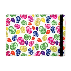 Colorful Roses Apple Ipad Mini Flip Case by Valentinaart