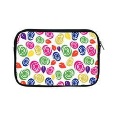 Colorful Roses Apple Ipad Mini Zipper Cases by Valentinaart