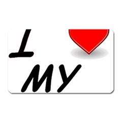 Dachshund Love Magnet (Rectangular) by TailWags
