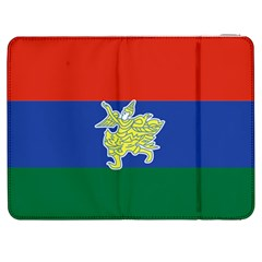 Flag Of Myanmar Kayah State Samsung Galaxy Tab 7  P1000 Flip Case by abbeyz71
