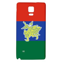 Flag Of Myanmar Kayah State Galaxy Note 4 Back Case by abbeyz71