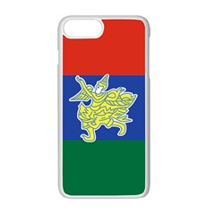 Flag of Myanmar Kayah State Apple iPhone 7 Plus White Seamless Case by abbeyz71