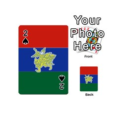 Flag Of Myanmar Kayah State Playing Cards 54 (mini)  by abbeyz71