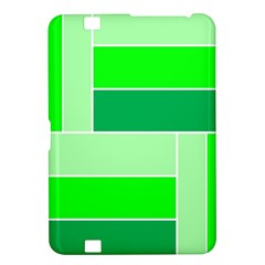 Green Shades Geometric Quad Kindle Fire Hd 8 9