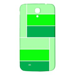 Green Shades Geometric Quad Samsung Galaxy Mega I9200 Hardshell Back Case