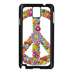 Groovy Flower Clip Art Samsung Galaxy Note 3 N9005 Case (black) by Nexatart