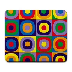 Kandinsky Circles Large Mousepads by Nexatart