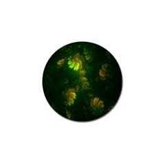 Light Fractal Plants Golf Ball Marker (10 Pack) by Nexatart