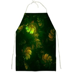 Light Fractal Plants Full Print Aprons