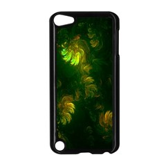 Light Fractal Plants Apple Ipod Touch 5 Case (black)