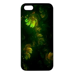 Light Fractal Plants Apple Iphone 5 Premium Hardshell Case