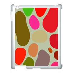 Pattern Design Abstract Shapes Apple Ipad 3/4 Case (white)