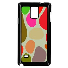 Pattern Design Abstract Shapes Samsung Galaxy Note 4 Case (black)