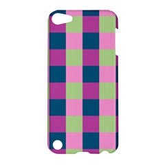 Pink Teal Lime Orchid Pattern Apple Ipod Touch 5 Hardshell Case