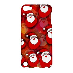 Seamless Santa Tile Apple Ipod Touch 5 Hardshell Case by Nexatart