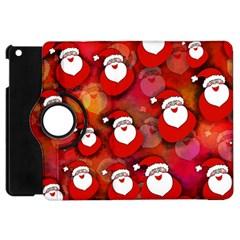 Seamless Santa Tile Apple Ipad Mini Flip 360 Case by Nexatart