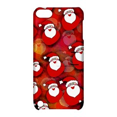 Seamless Santa Tile Apple Ipod Touch 5 Hardshell Case With Stand