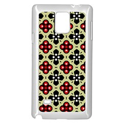 Seamless Tileable Pattern Design Samsung Galaxy Note 4 Case (white)