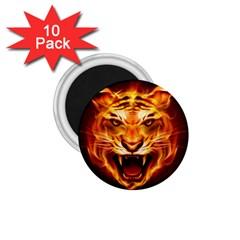 Tiger 1 75  Magnets (10 Pack)