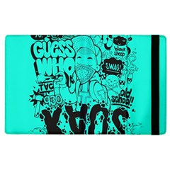 Typography Illustration Chaos Apple Ipad 3/4 Flip Case