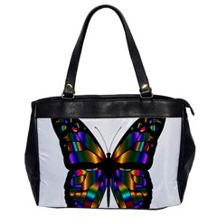 Abstract Animal Art Butterfly Office Handbags
