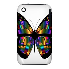 Abstract Animal Art Butterfly Iphone 3s/3gs by Nexatart