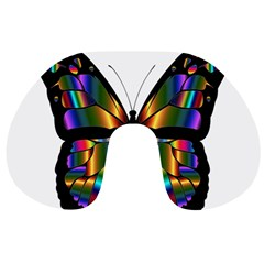 Abstract Animal Art Butterfly Travel Neck Pillows