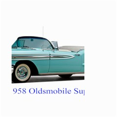 1958 Oldsmobile Super 88 J2 2a Small Garden Flag (two Sides) by Jeannel1