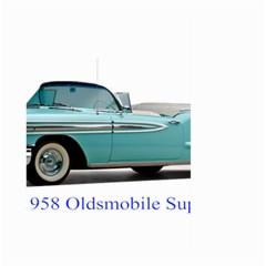 1958 Oldsmobile Super 88 J2 2a Large Garden Flag (two Sides) by Jeannel1