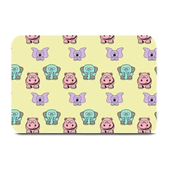 Animals Pastel Children Colorful Plate Mats