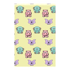 Animals Pastel Children Colorful Shower Curtain 48  X 72  (small)  by Nexatart