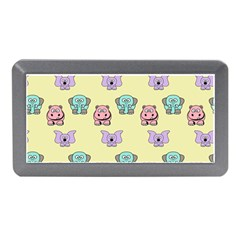 Animals Pastel Children Colorful Memory Card Reader (mini) by Nexatart