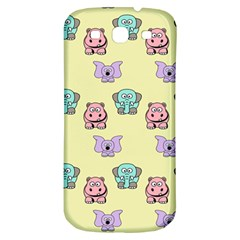 Animals Pastel Children Colorful Samsung Galaxy S3 S Iii Classic Hardshell Back Case by Nexatart