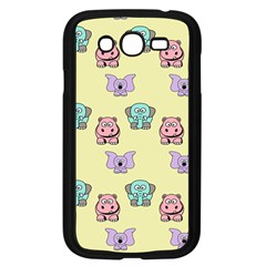 Animals Pastel Children Colorful Samsung Galaxy Grand Duos I9082 Case (black) by Nexatart