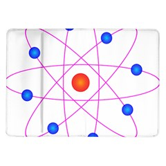 Atom Model Vector Clipart Samsung Galaxy Tab 10 1  P7500 Flip Case