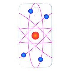 Atom Model Vector Clipart Samsung Galaxy Mega I9200 Hardshell Back Case