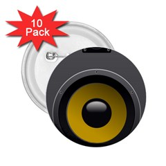 Audio Loadspeaker Activ 2 25  Buttons (10 Pack)